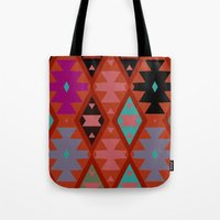 bohemian Tote Bags featuring bohemian by spinL