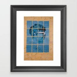 GRAFFITI MAN 2 Framed Art Print