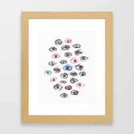 See All Evil Framed Art Print