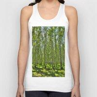 birch Tank Tops featuring Birch Grove by Svetlana Korneliuk