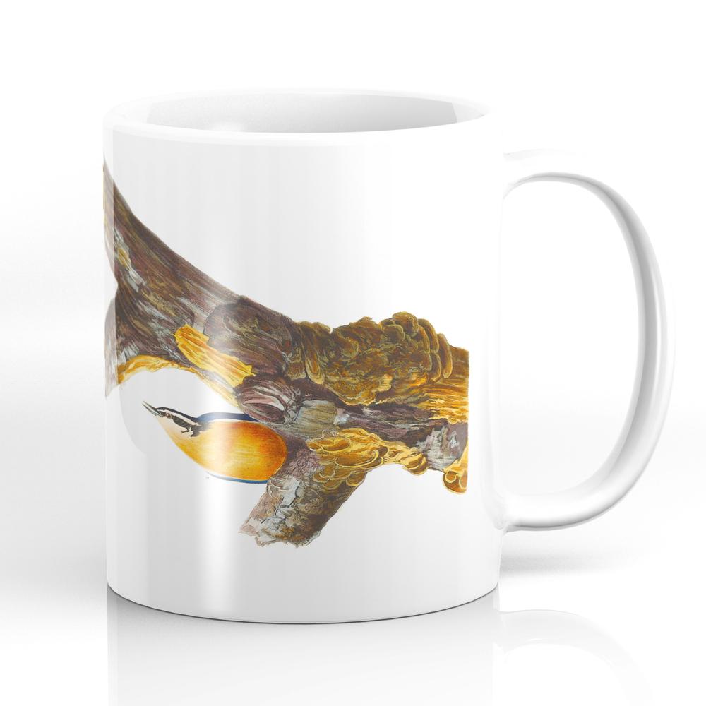 Red-Breasted Nuthatch Bird Mug by enshape (MUG6427642) photo