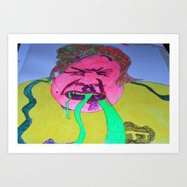 Angry Brazillian Fan Art Print