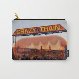 All Aboard the Crazy Train carnival ride Carry-All Pouch