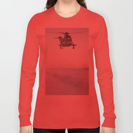 Jungly In Winter Long Sleeve T-shirt