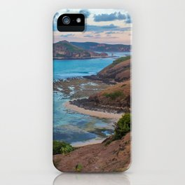 Sunset over Lombok iPhone Case