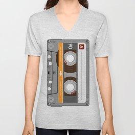 K7 Cassette 6 Unisex V-Neck