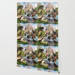 Jurassic dinosaur Wallpaper
