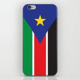 South Sudan iPhone Skin