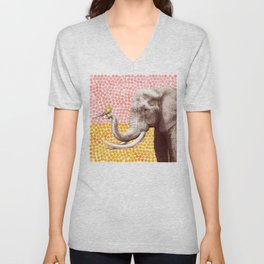 New Friends 2 by Eric Fan and Garima Dhawan Unisex V-Neck