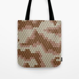 CUBOUFLAGE DESERT Tote Bag