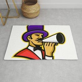 Circus Ringleader or Ringmaster Mascot Rug