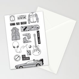 McFly Icons - Back to the Future Stationery Cards