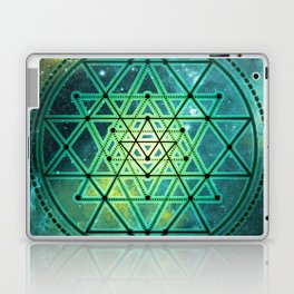 Sri Yantra Laptop & iPad Skin