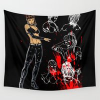 avenger Wall Tapestries featuring Avenger Mother by Alessandro Turetta