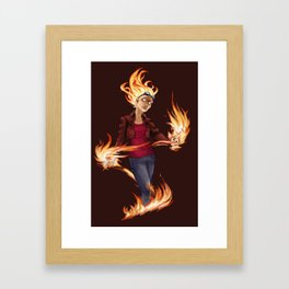 Modern Chandra Framed Art Print