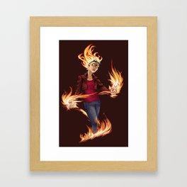 Modern Chandra Framed Art Print
