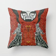 The Road on the Sky Throw Pillow