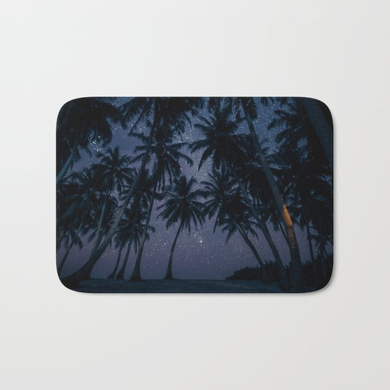 Find Me Under The Palms Bath Mat