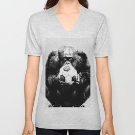 Soccer Chimp Unisex V-Neck