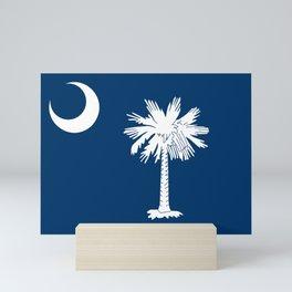 Flag of South Carolina Mini Art Print