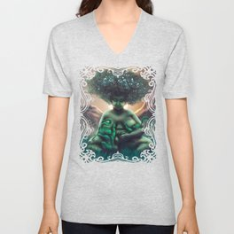 Mother Baobab Unisex V-Neck