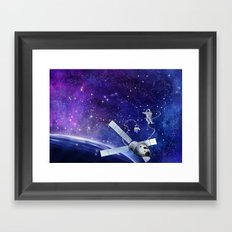 Spacewalk Framed Art Print