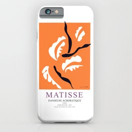 Henti Matisse Danseuse Acrobatique 1949 Artwork for Wall Art, Prints, Posters, Tshirts, Men, Women, Kids iPhone Case