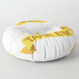 Rad Tech X Ray Skeleton Radiology Technican Gift Floor Pillow