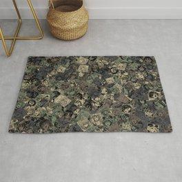 Ahegao camouflage Rug