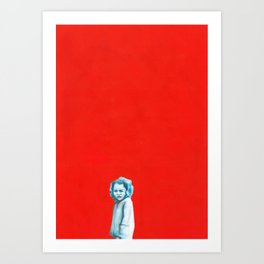 Les disparus 2 Art Print