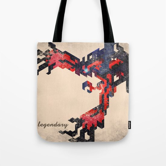 I Am Legendary Y- Geometric Tote Bag