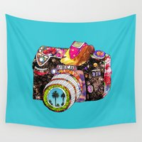 dear Wall Tapestries featuring Picture This by Bianca Green