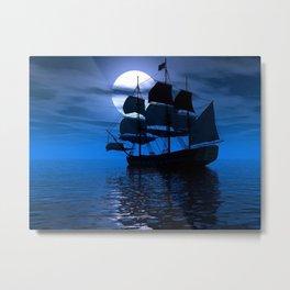 Sailing Ship Metal Print