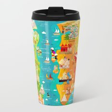 A Map of Ice and Fire Travel Mug