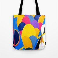 tool Tote Bags featuring Tool by takingachancexo