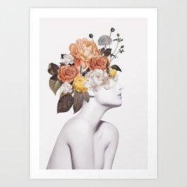 Floral beauty 7 Art Print