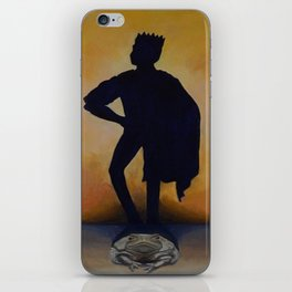 The Princely Frog iPhone Skin