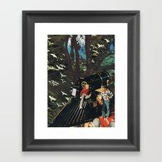 Alerta Station Framed Art Print