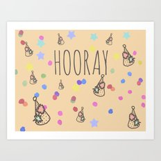 hooray, 5$ off and free shipping!!!! use link Art Print