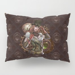 Steampunk Pillow Sham