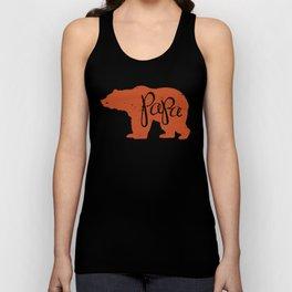Papa Bear Unisex Tank Top
