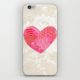 Lovely at Heart iPhone Skin