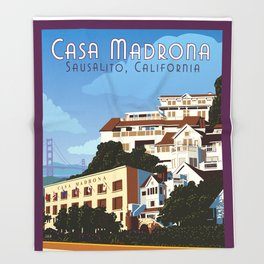 Casa Madrona Throw Blanket