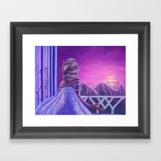 Here I Stand In The Light Of Day Framed Art Print