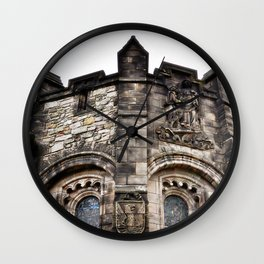 Edinburgh Castle Tower Wall Clock