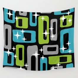 Mid Century Modern Geometric Abstract 189 Wall Tapestry