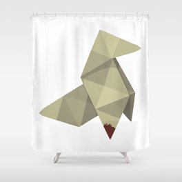 Origami Killer Shower Curtain