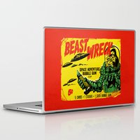 50s Laptop & iPad Skins featuring BEASTWRECK ATTACKS! by BeastWreck
