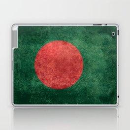 Flag of Bangladesh, Vintage Version Laptop & iPad Skin