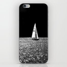 Sailing On The Lake iPhone Skin